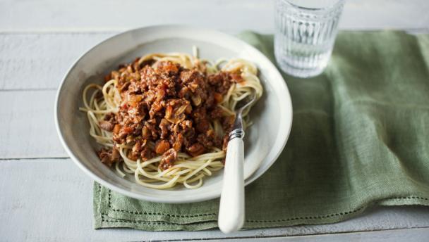 Tom Kerridge's spaghetti Bolognese