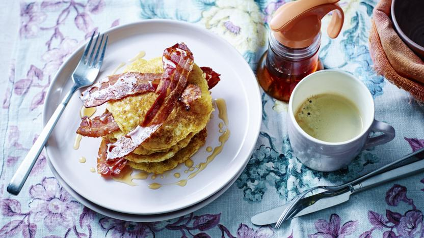 Gluten-free American buttermilk pancakes recipe