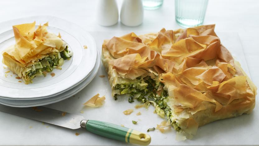 Any greens pie