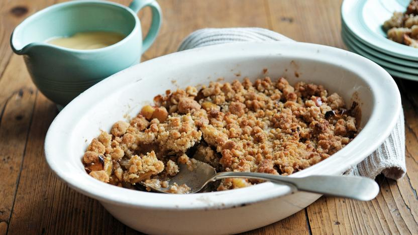 Food Recipes Apple Crumble