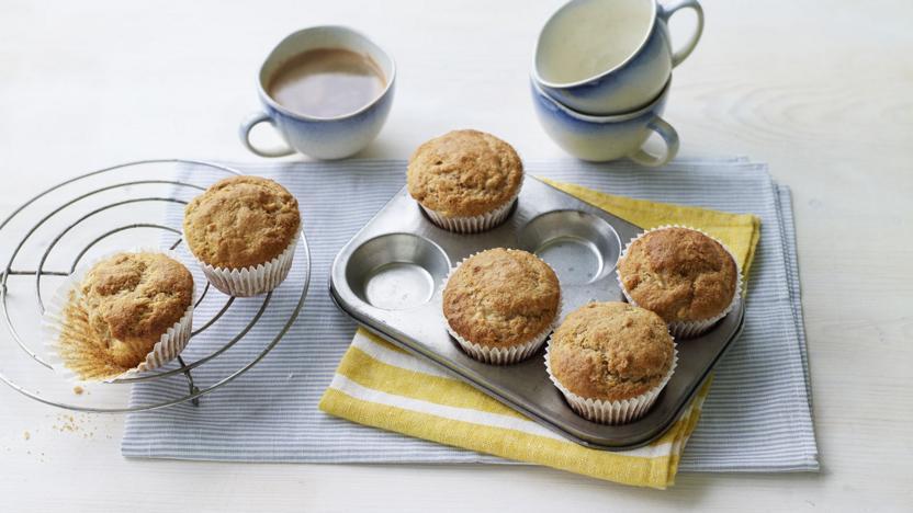 Healthy Banana Muffins Recipe Bbc Food