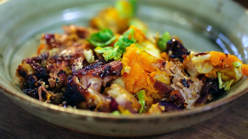 Christmas bubble and squeak