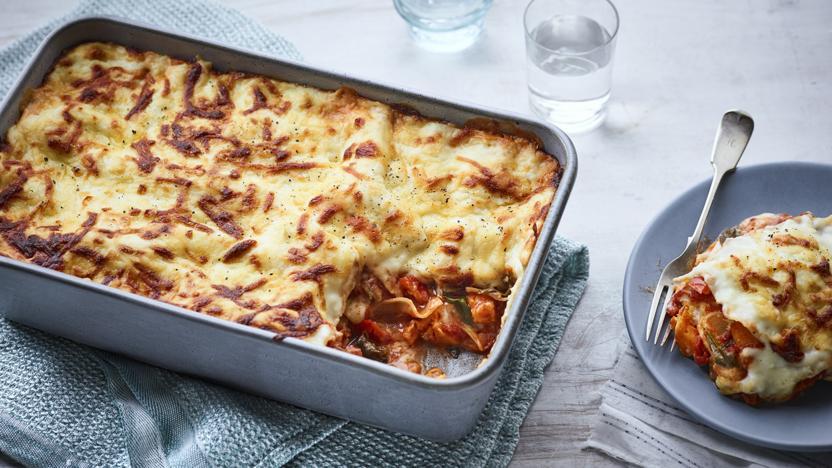 The best vegetable lasagne