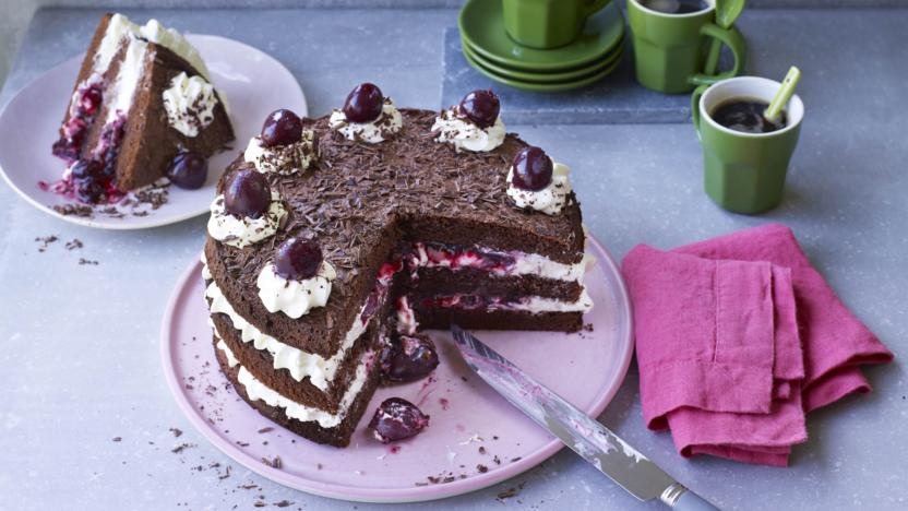 Black Forest Gteau Recipe