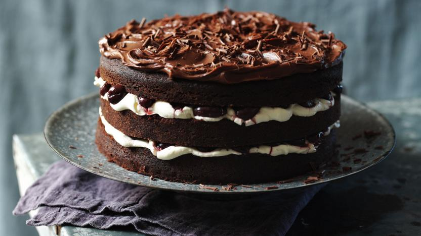 Hairy Bikers Black Forest Gteau