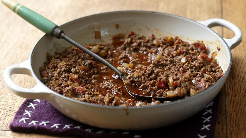 Basic braised mince recipe bbc food basic braised mince forumfinder Choice Image