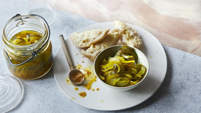 Bread and butter pickle