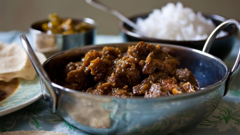 British beef Raj curry