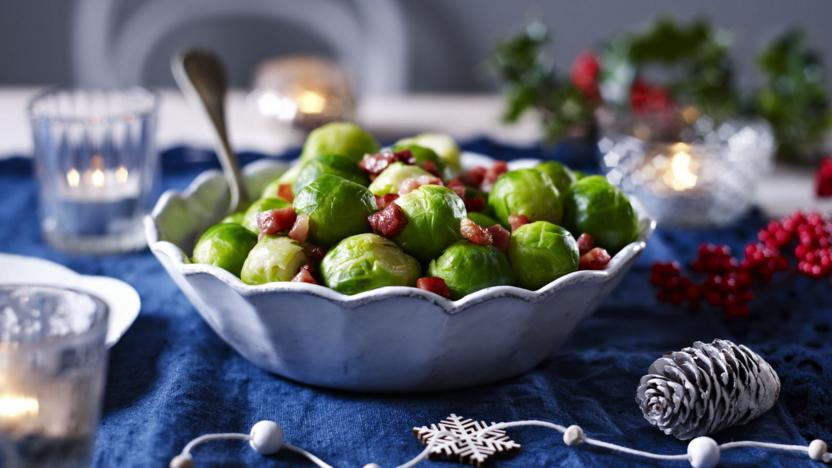 Brussels Sprouts With Pancetta Recipe Bbc Food