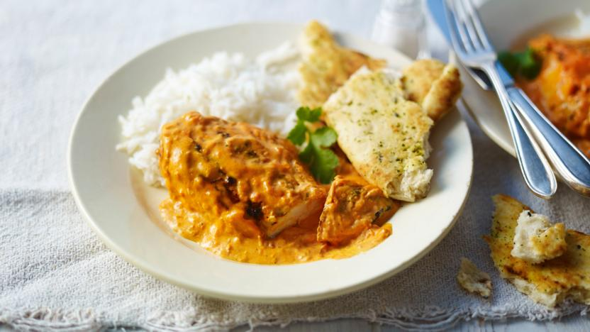 Butter Chicken Recipe Bbc Food