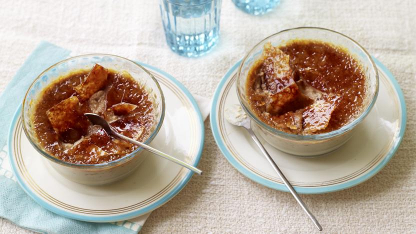 Cappuccino crème brûlées