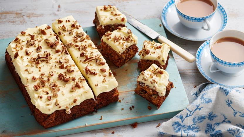 Carrot Cake Recipe Uk Bbc: Carrot And Sultana Cake With Creamy Orange Frosting Recipe