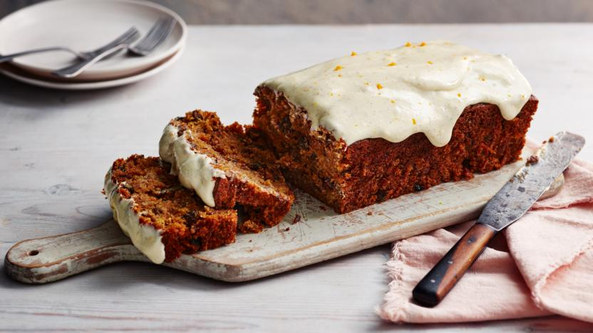 Carrot Cake Loaf Recipe Bbc Food