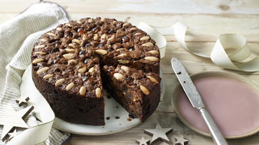Mary Berry's classic fruit cake
