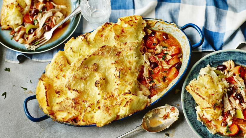 Chicken parmentier recipe bbc food chicken parmentier forumfinder Image collections
