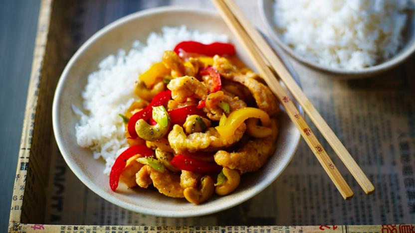 Chicken And Cashew Nut Stir Fry Recipe Bbc Food