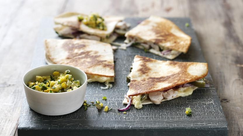 Chicken Quesadillas Recipe Bbc Food