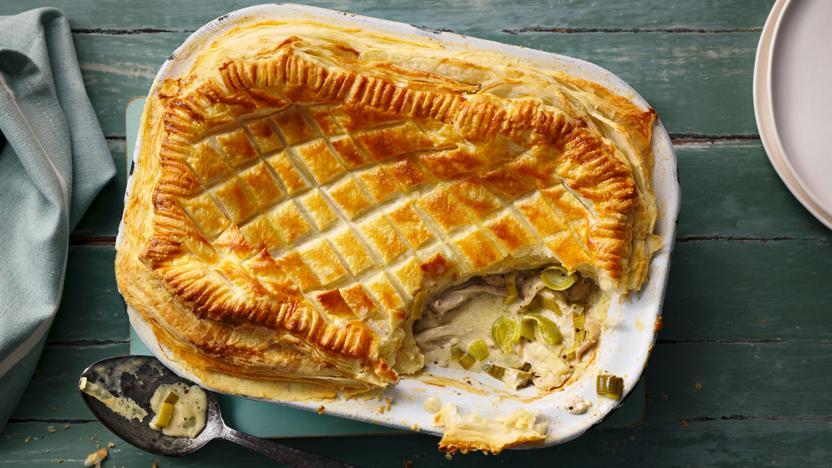 Bbc food recipes chicken and leek pie chicken and leek pie forumfinder Gallery