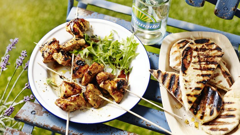 Easy Chicken Kebabs Recipe Bbc Food