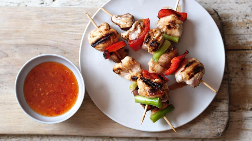 Chicken Yakitori Recipe Bbc Food