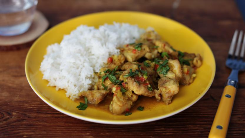 Chilli and lemongrass chicken recipe