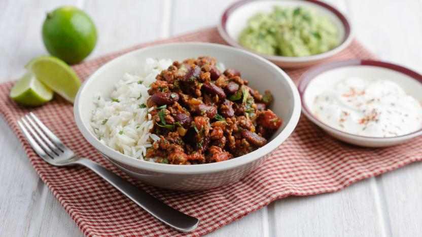 chilli con carne recipe bbc food. Black Bedroom Furniture Sets. Home Design Ideas