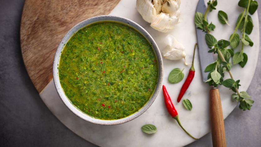 Chimichurri Sauce Recipe Bbc Food
