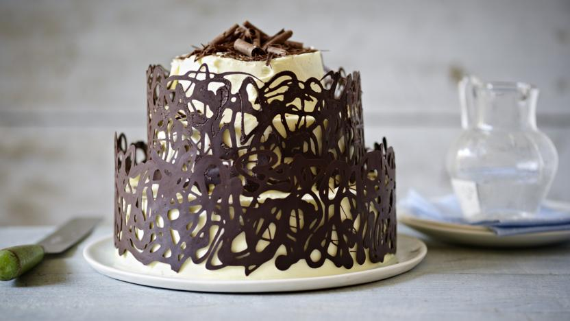 White Chocolate Ganache Cake Mary Berry