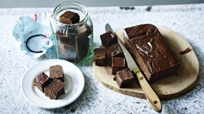 Chocolate Marshmallow Fudge Recipe Bbc Food