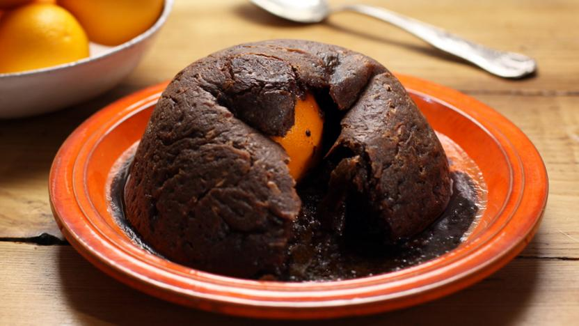 Bbc food recipes chocolate orange pond pudding chocolate orange pond pudding forumfinder Choice Image