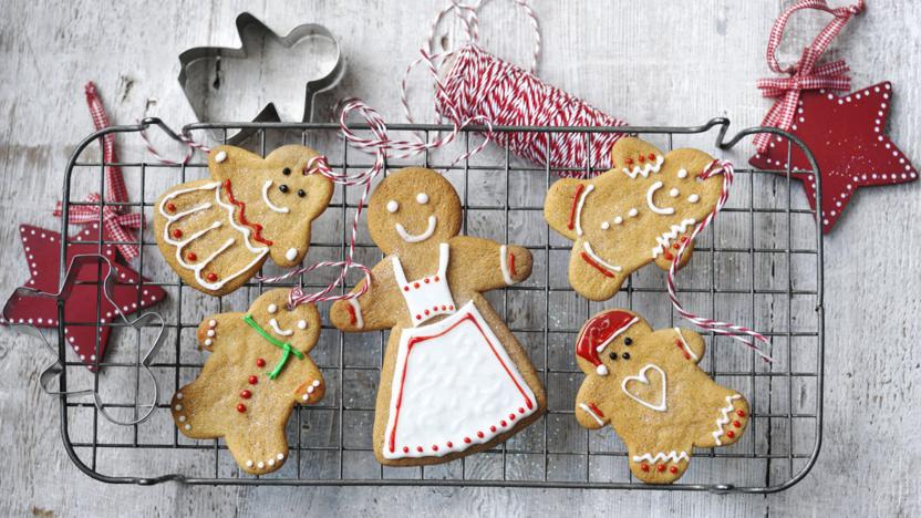Christmas Gingerbread Cookies Recipe.Gingerbread Recipes Bbc Food