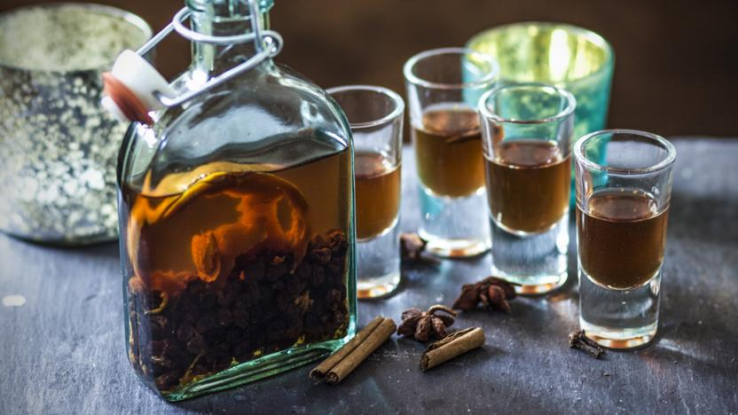 Christmas pudding vodka recipe bbc food christmas pudding vodka forumfinder Image collections