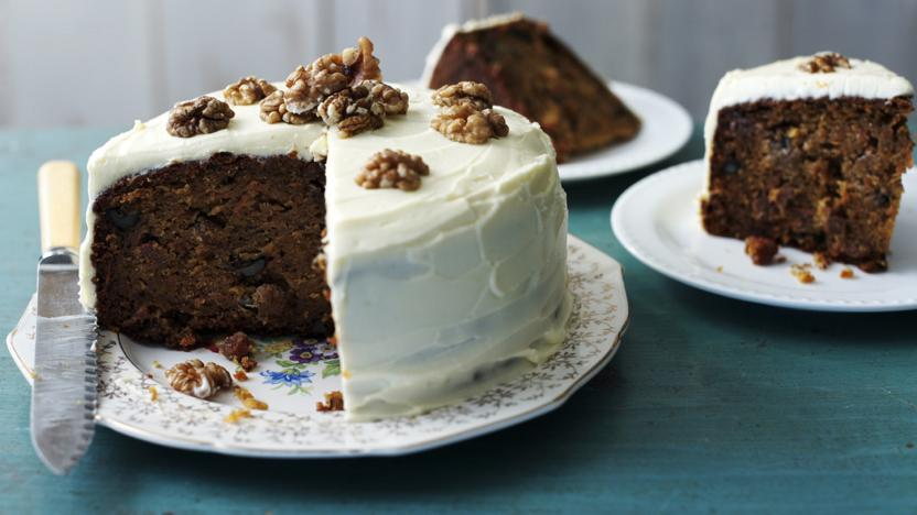 Carrot Cake Recipe Uk