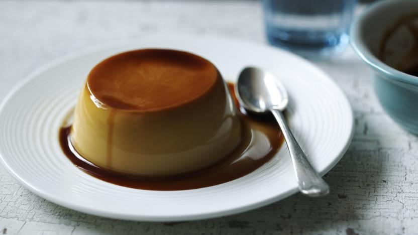 Classic crème caramel