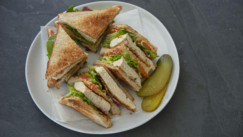 Club Sandwich Recipe Bbc Food