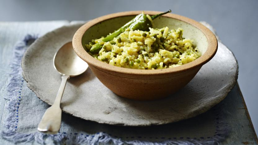 Creamy lentils and rice