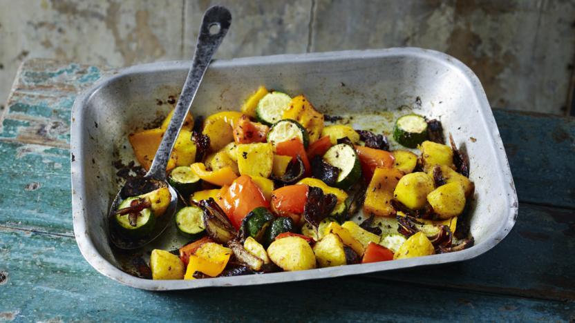 Cumin roast vegetables