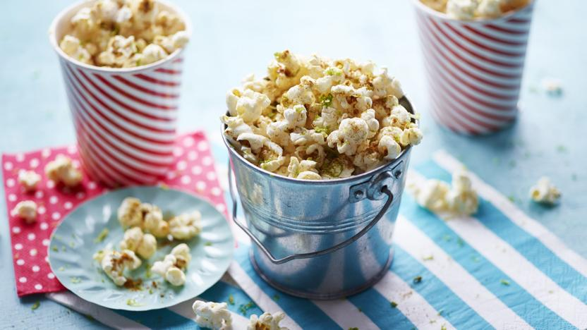 Christmas Popcorn Recipes.Popcorn Recipes Bbc Food
