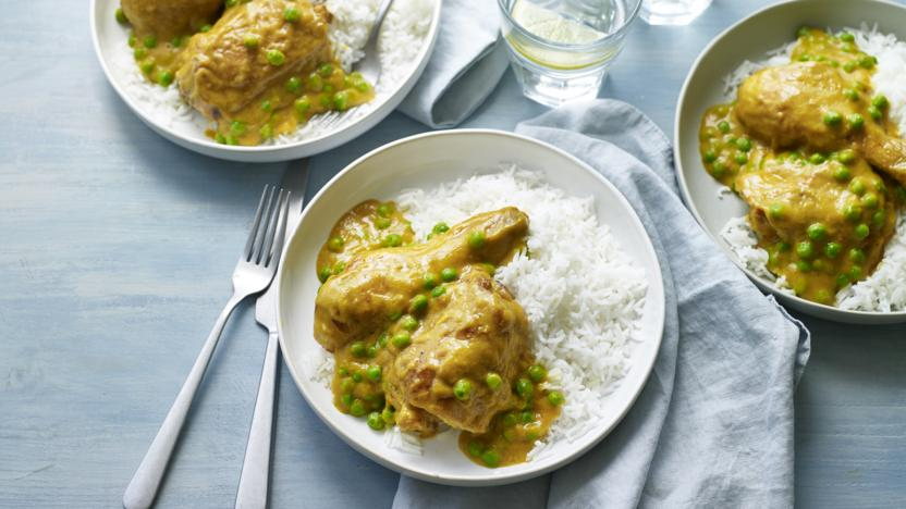 Dad's Chinese chicken curry