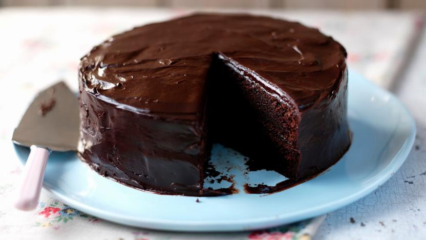 Easy chocolate cake recipe bbc food easy chocolate cake forumfinder Choice Image