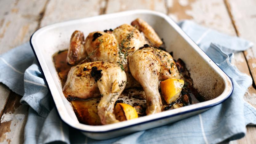 Everyday Roast Chicken Recipe Bbc Food