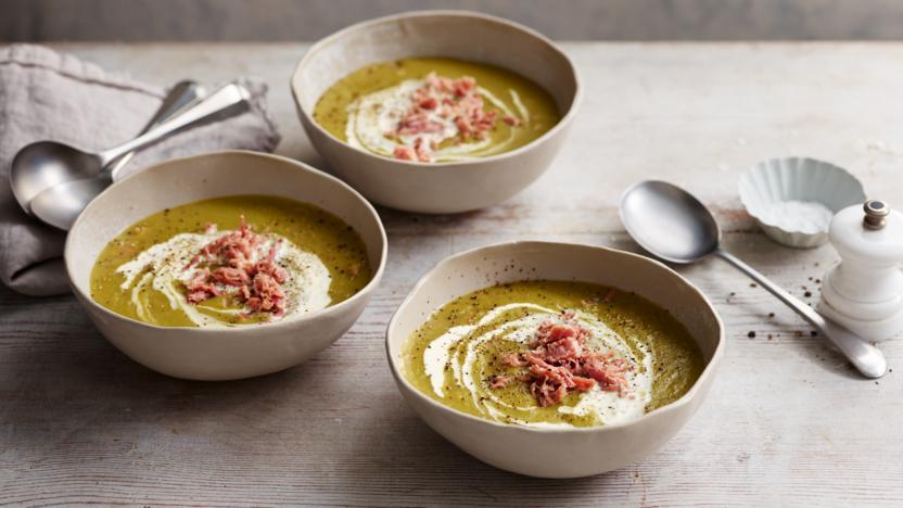 Finnish split pea soup