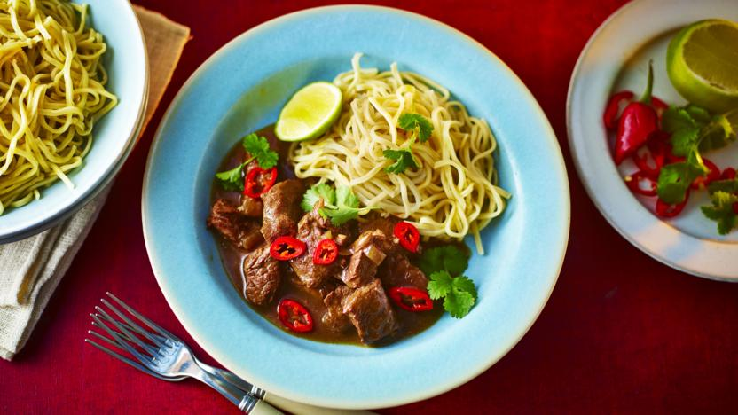 Slow cooker chinese style beef recipe bbc food slow cooker chinese style beef forumfinder Image collections