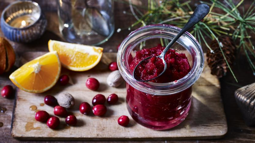 Mary Berry's cranberry sauce