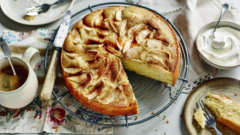German Apple Cake Recipe Bbc Food