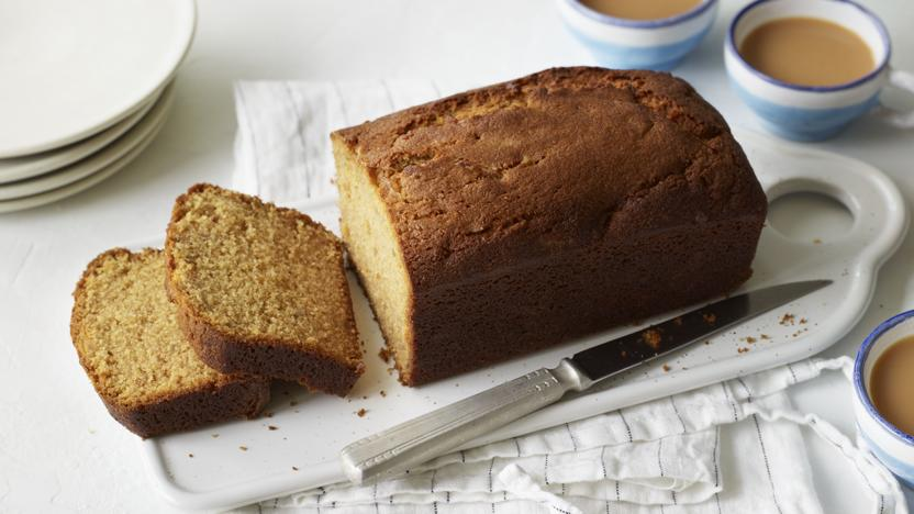 Ginger and marmalade loaf cake