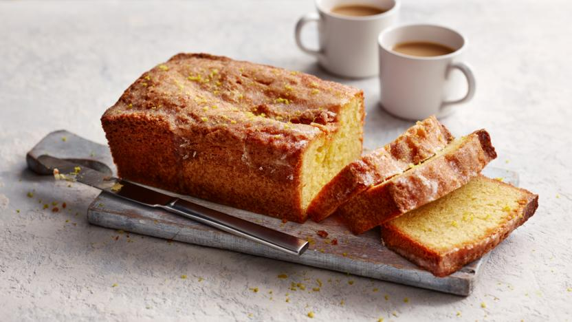 Gluten-free lemon drizzle cake recipe - BBC Food