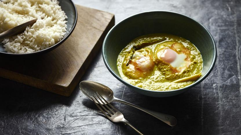 BBC Food - Recipes - Golden egg curry
