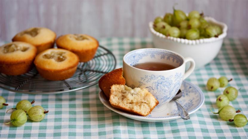 Gooseberry cupcakes
