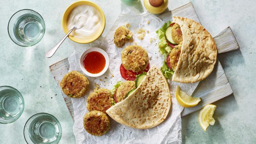 Easy falafel recipe bbc food easy falafel forumfinder Image collections